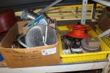 Lot 46 - Misc. Metal Strapping / Cables/ Submersible Pump / etc.