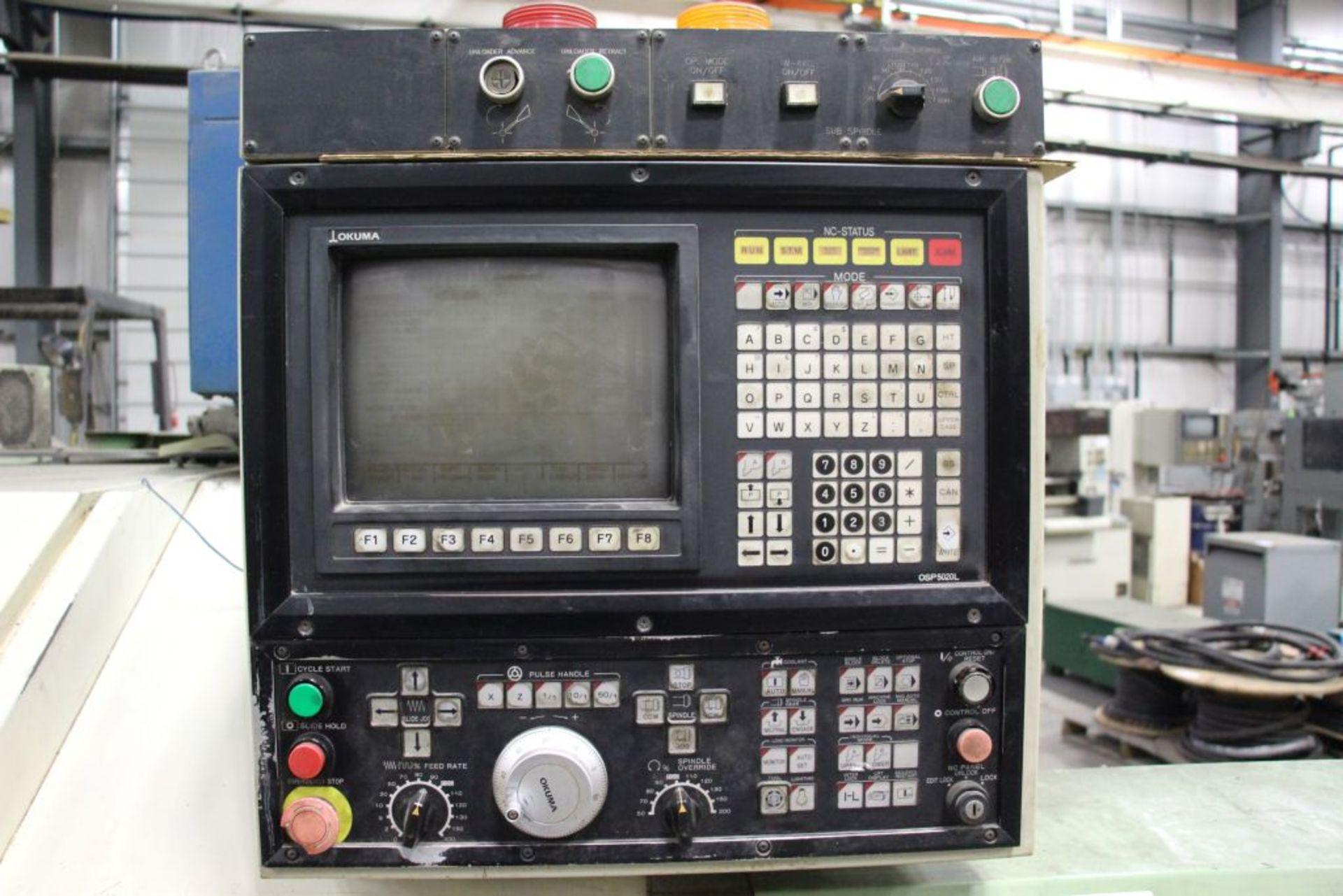 Lot 1 - Okuma Cadet W CNC Lathe, model LNC - 8W, serial number - 06030083, 220V / 3 Phase