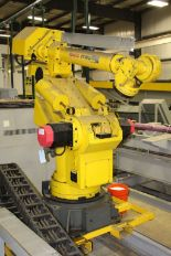 Lot 13 - FANUC Robot, model - 420 F with controller, Type - AO5B-1302B201, Serial Number - R91303780
