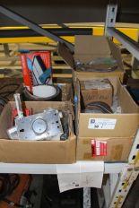 Lot 38 - Misc. Rototiller Blades, bandsaw equipment & misc.