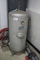 Lot 15 - Airtank UDO Kleusberg tank, 200 L serial no. - 14/1418