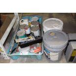 Lot 50 - Paint & Supplies
