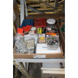 Lot 28 - assortment of hardware, bolts, nuts and misc.