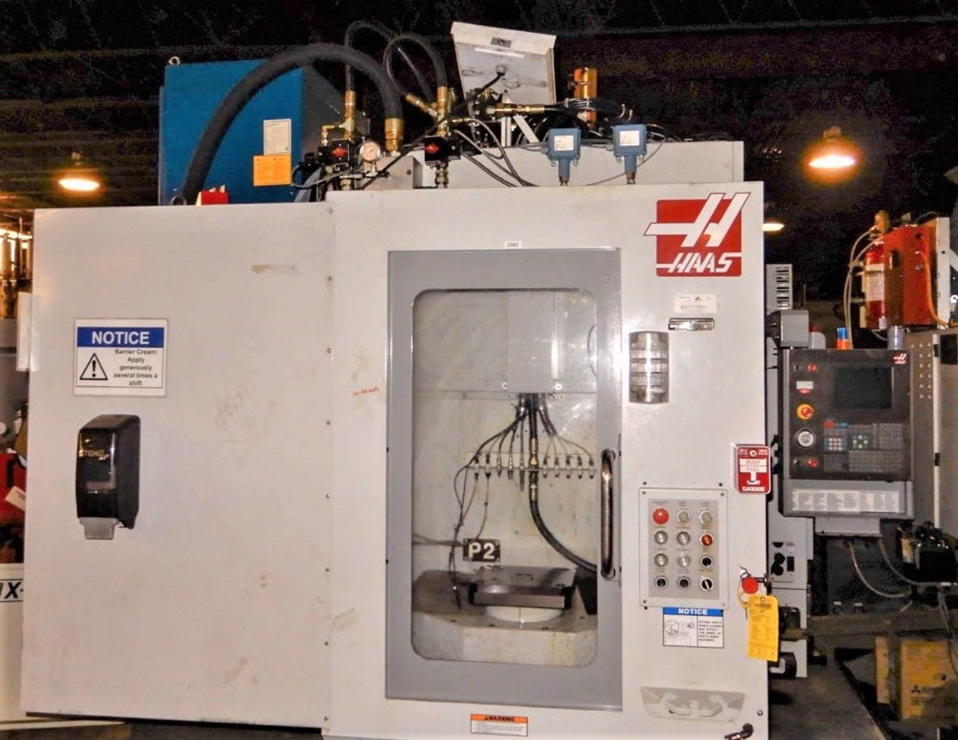 "Lot 24 - 12""x12"" Haas EC-300 CNC 4-Axis Horizontal Machining Center, S/N 58580, New 2005"