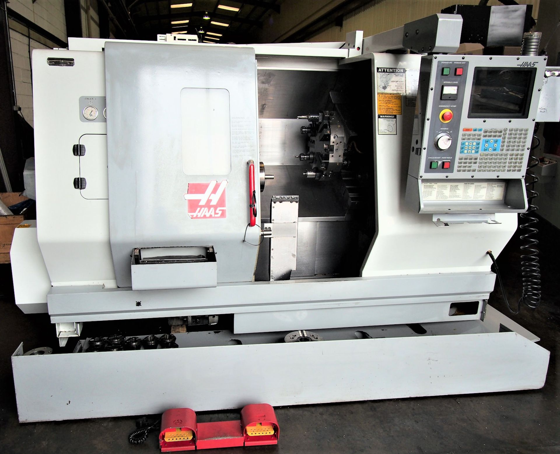 Lot 25 - Haas TL-15 CNC Lathe W/Sub Spindle, S/N 65304, New 2002