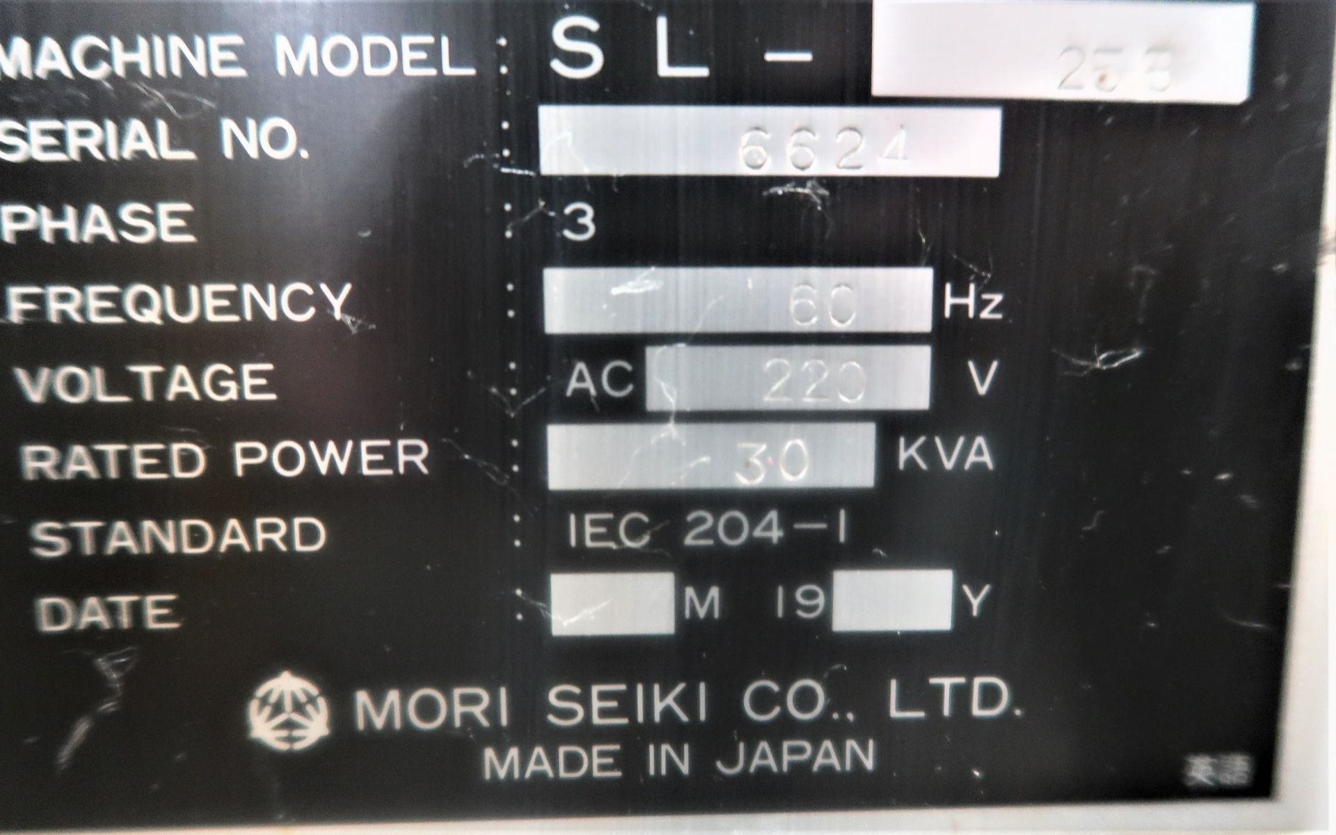 Lot 10C - MORI SEIKI SL-25 CNC 2-AXIS TURNING CENTER LATHE WITH LNS QUICK LOAD BAR FEED