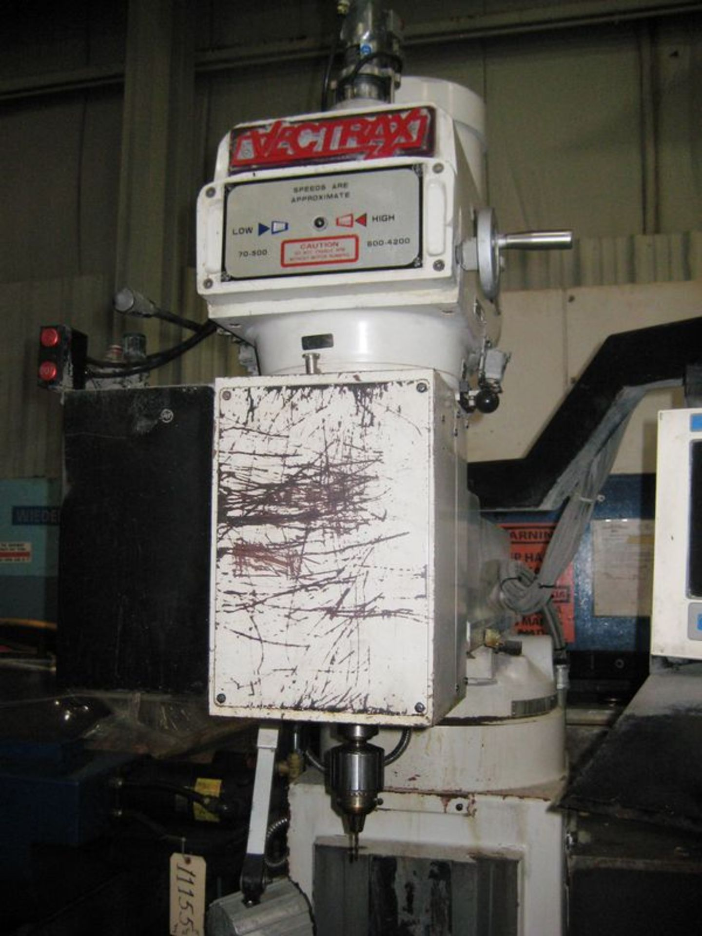 Lot 20 - Vectra GS-N16V 3-Axis CNC Knee Type Milling Machine, S/N 9030192NV, New 2001