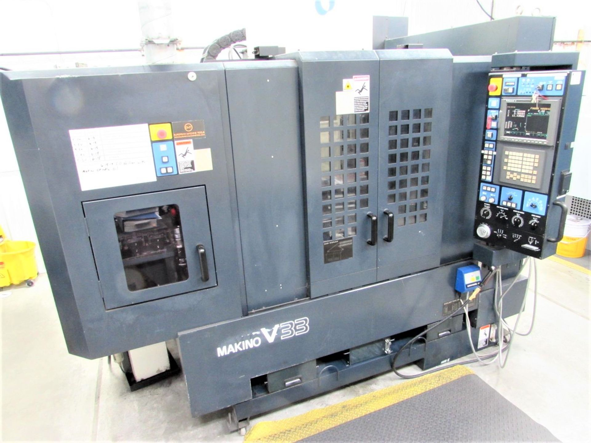 Lot 39 - Makino V33 High Speed CNC Vertical Machining Center, 30k RPM Spindle, S/N 1034, New 2003