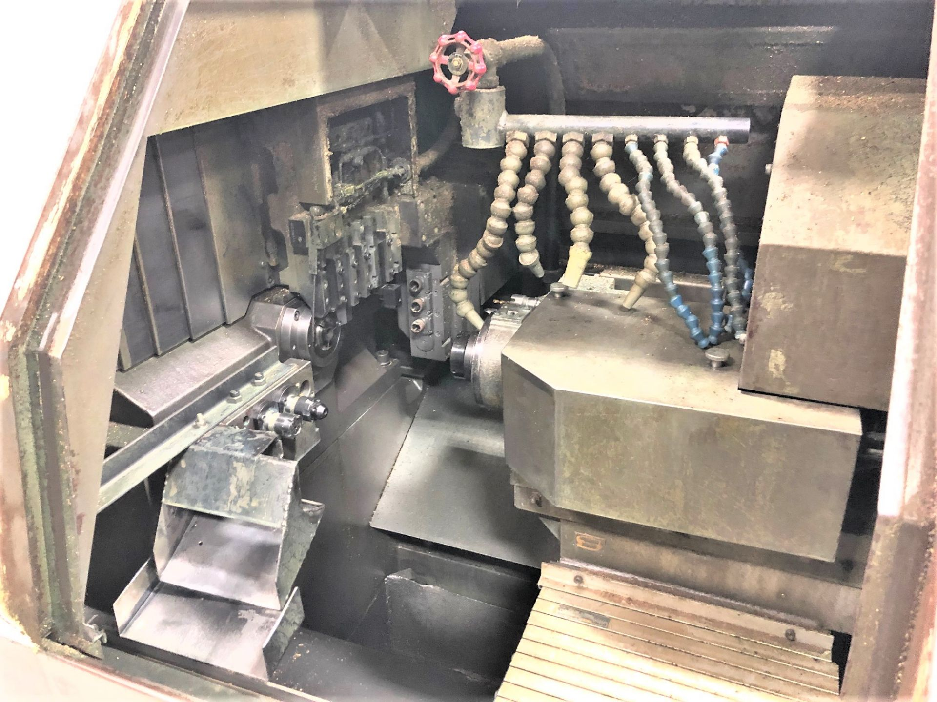 Lot 36 - 32mm Star SR-32 CNC Swiss Type Sliding Headstock Turning Center Automatic Lathe, S/N 031032,