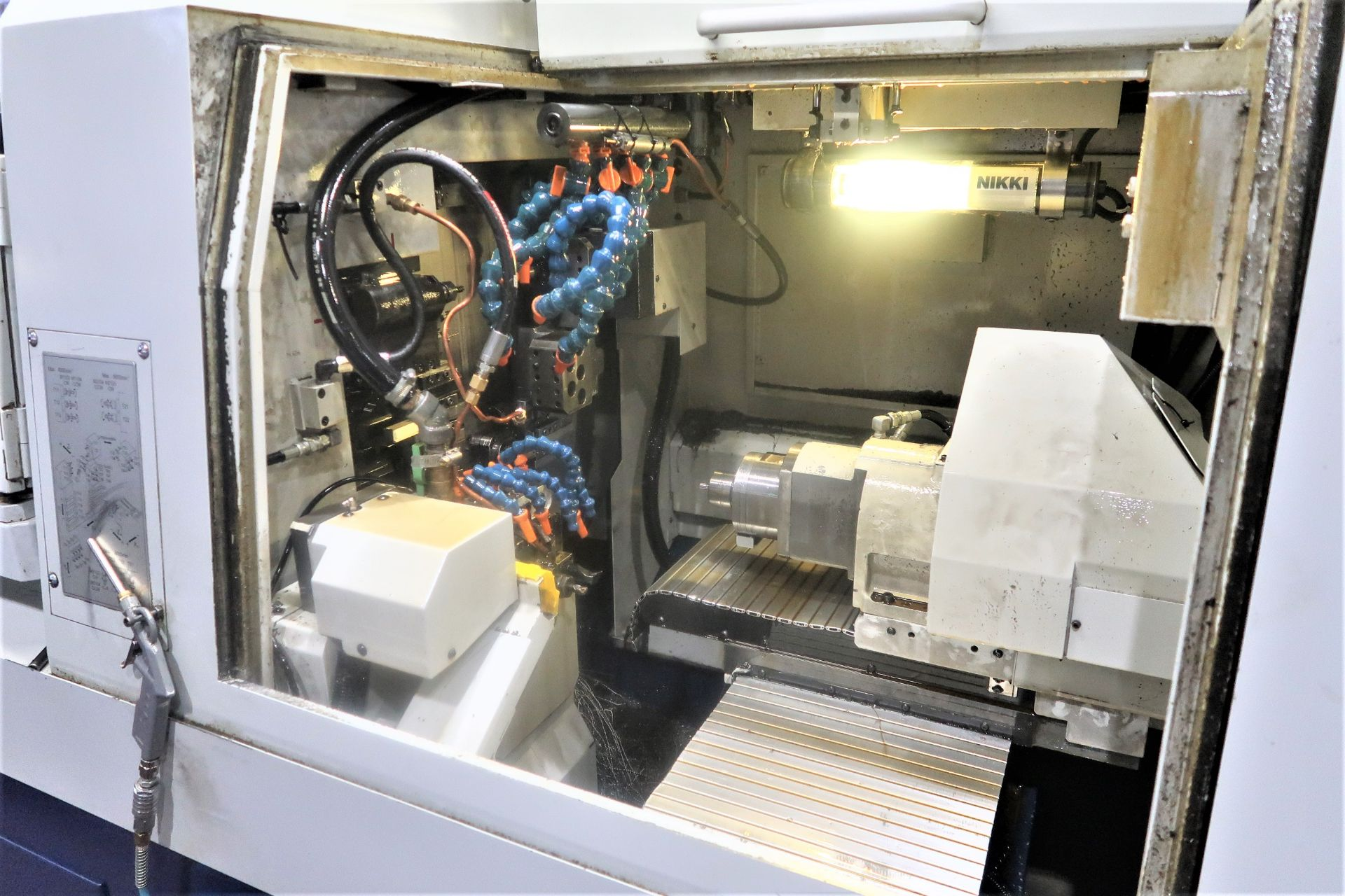 Lot 34 - Tsugami S206/Tornos Gamma 20/6 6-Axis CNC Swiss Type Automatic, S/N 20620531, New 2011