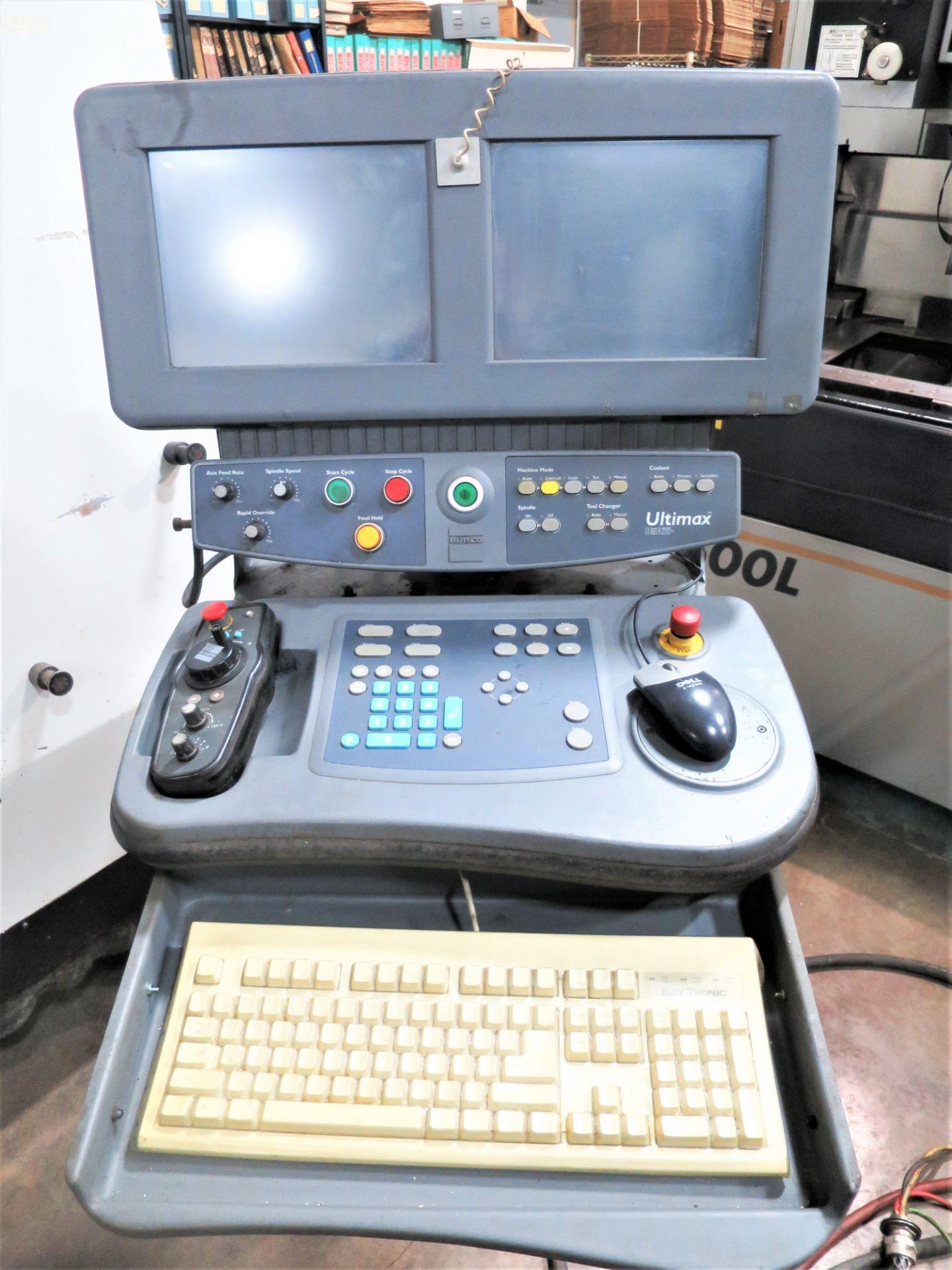 Lot 52 - Hurco VMX-24 3-Axis CNC Vertical Machining Center, S/N M242-06019, New 2007