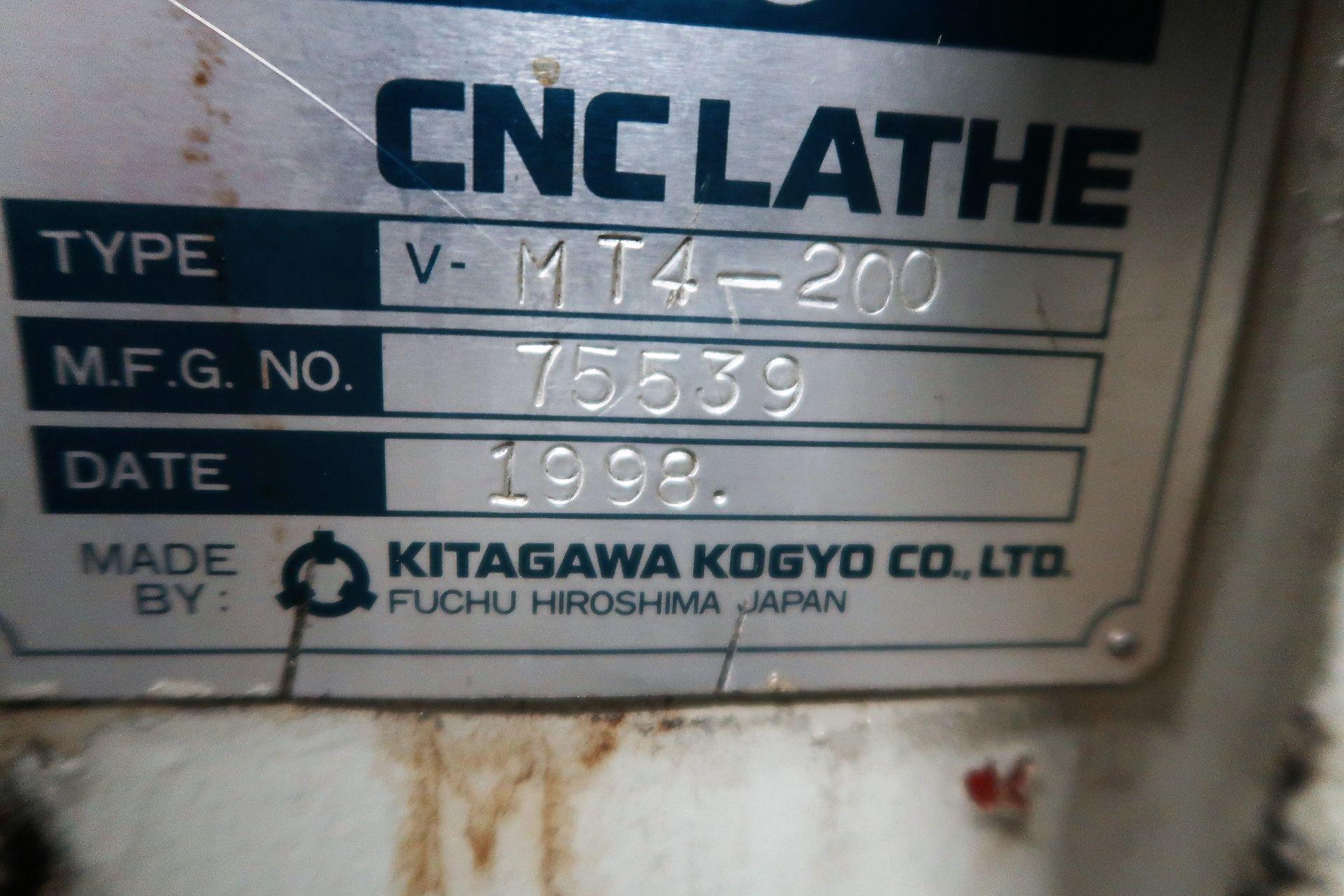 Lot 33 - Kitako MT4-200 4 Spindle CNC Horizontal Turning Center Chucking Lathe, S/N 103-75532