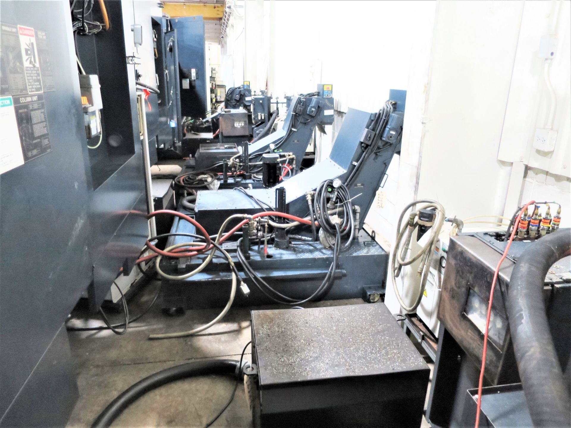 "Lot 18 - 20""x20"" Pallet Makino A71 CNC 4-Axis Precision Horizontal Machining Center"