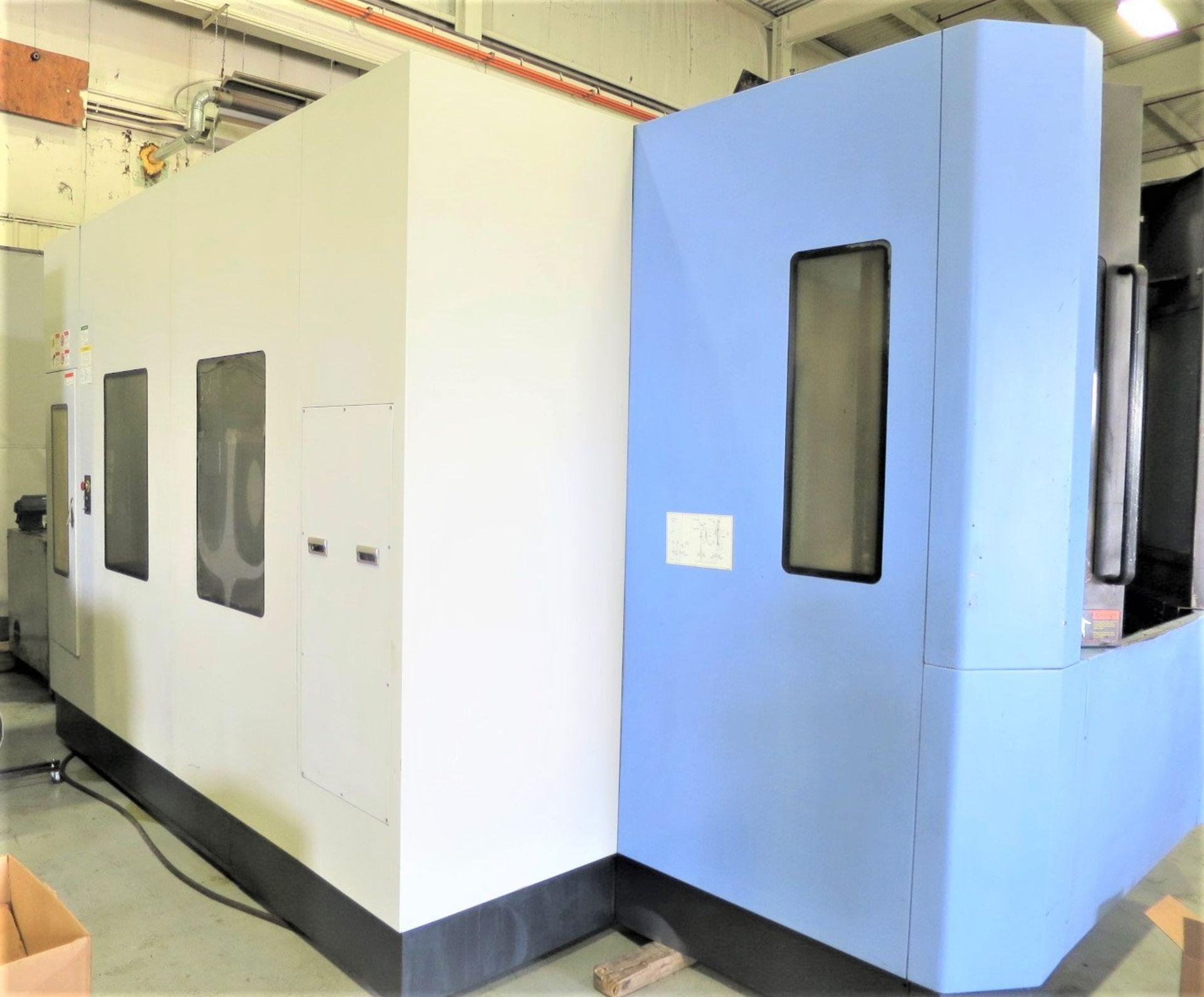 "Lot 38 - 20""x20"" Doosan HP5500 CNC 4-Axis Horizontal Machining Center, S/N HP550139, New 2008"
