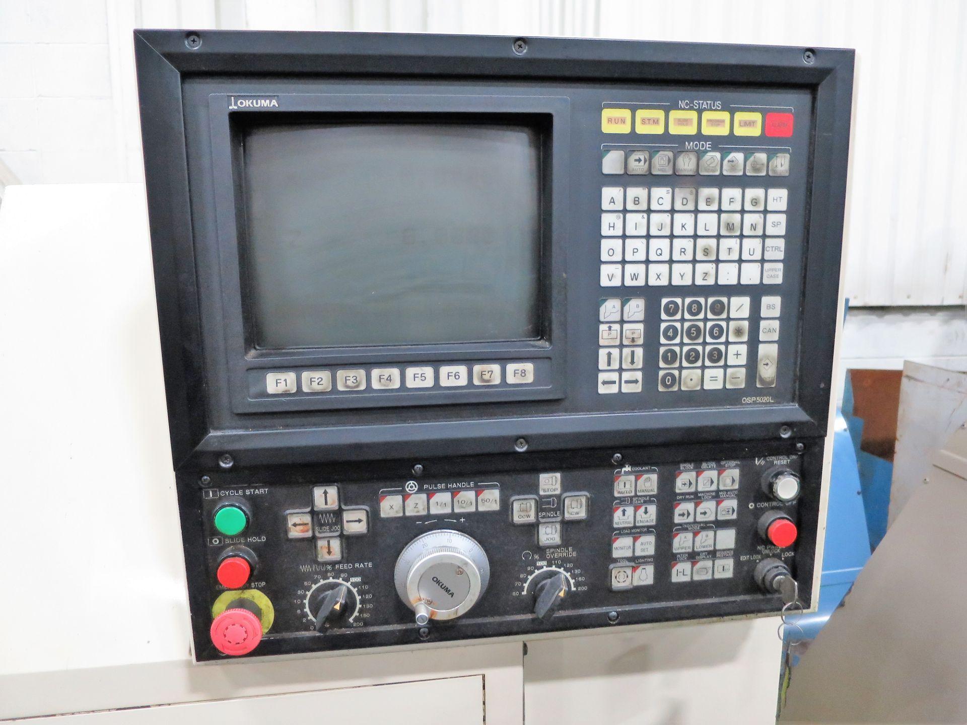 Lot 28 - Okuma LNC-8 CNC 2-Axis Turning Center, New 1992