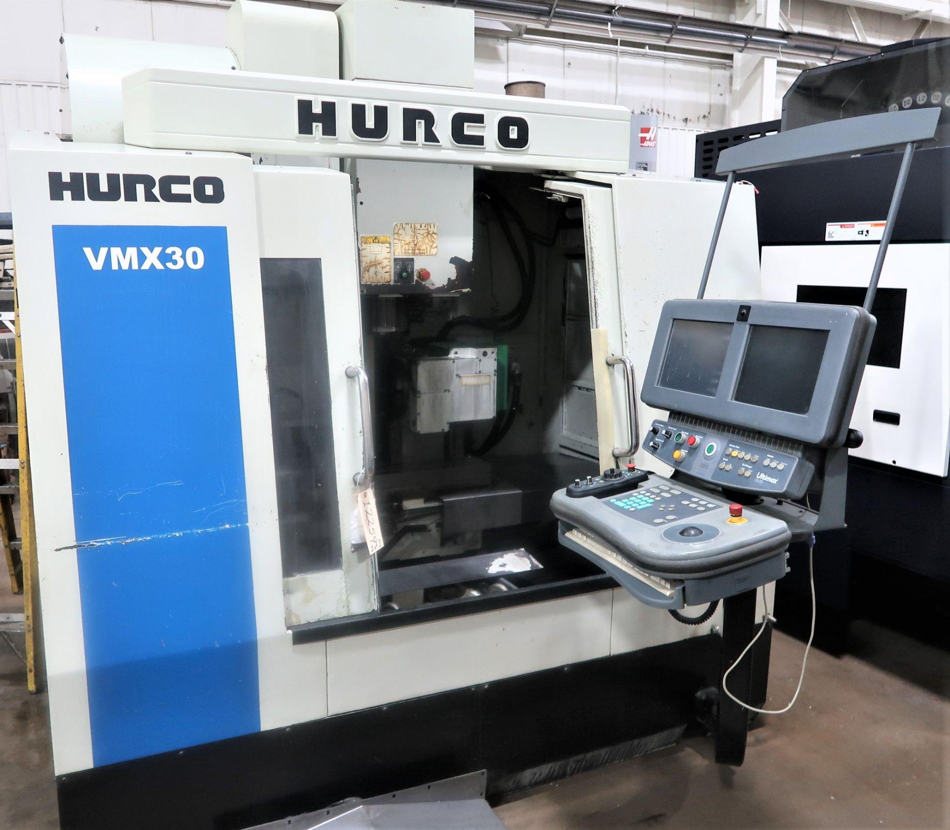 Lot 54 - Hurco VMX-30 4-Axis CNC Vertical Machining Center, S/N VMX-30, New 2005