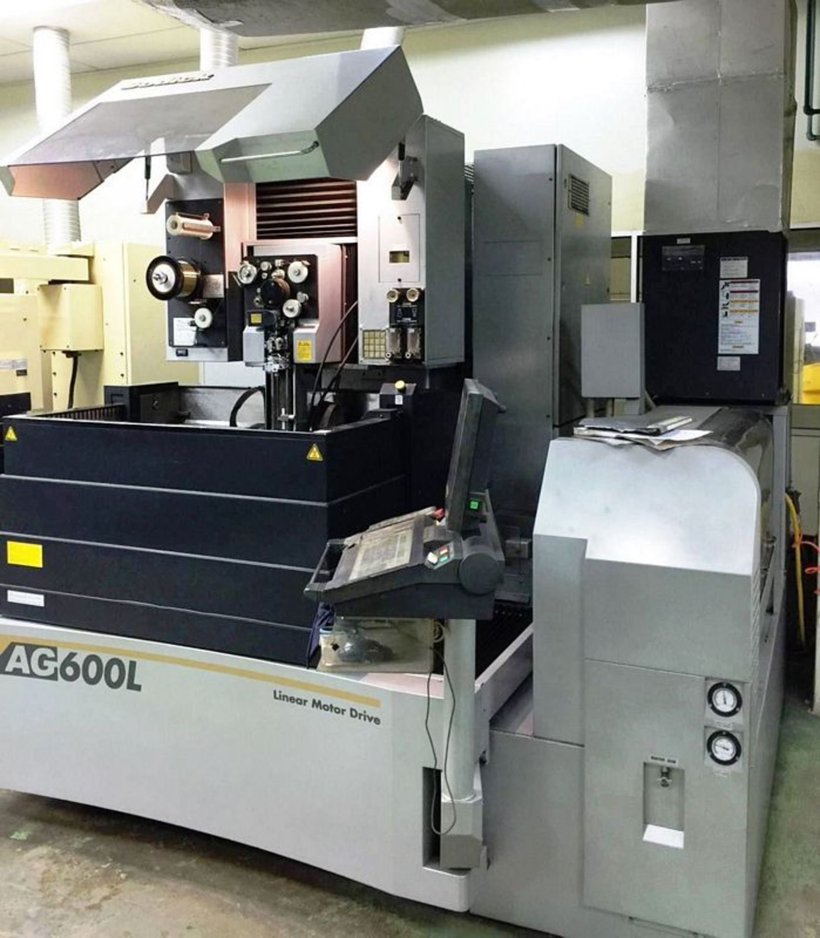 Lot 66 - Sodick AG600L CNC 5-Axis Wire Cut Electrical Discharge Machine, S/N 363, New 2011