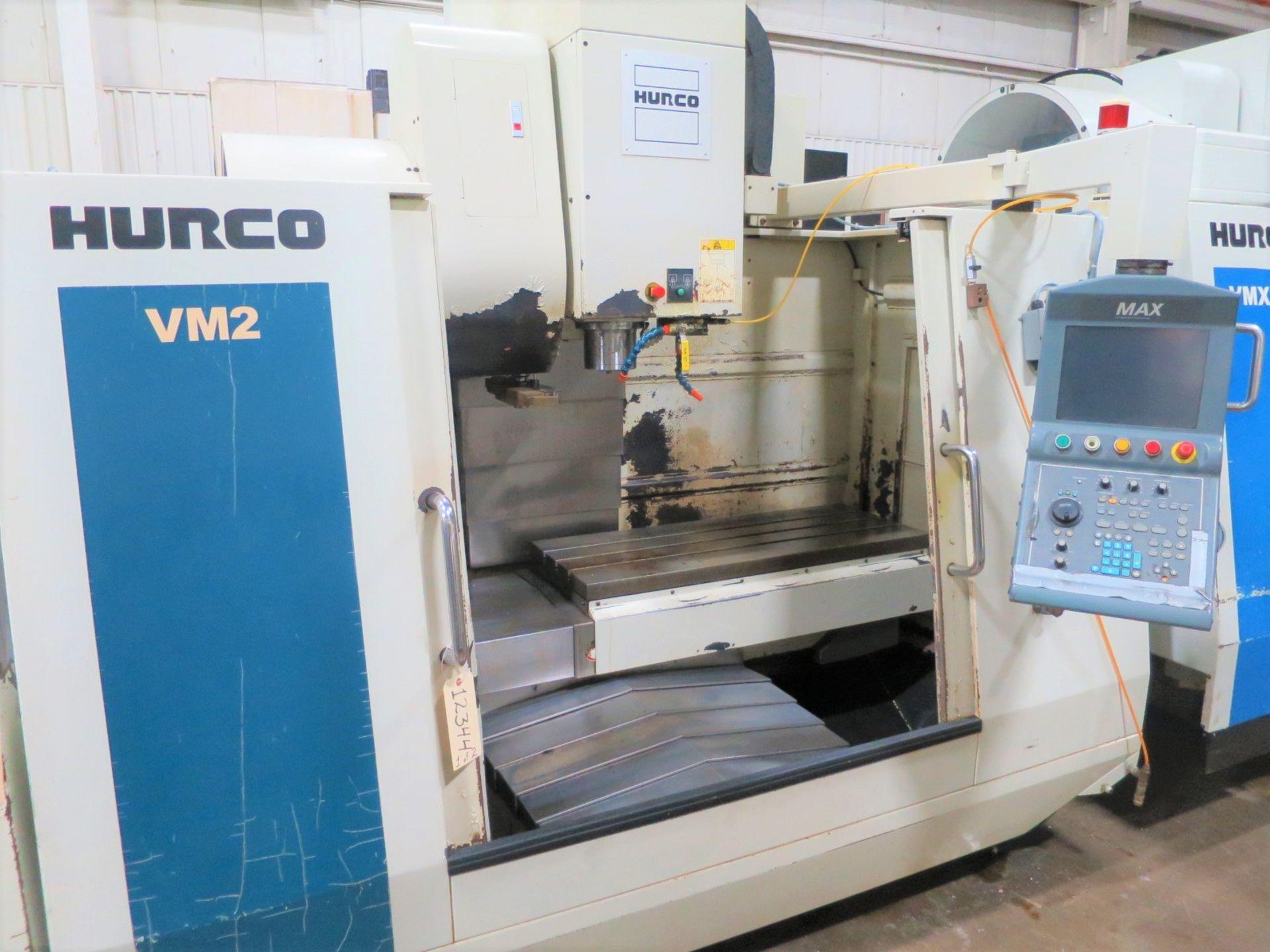 Lot 53 - Hurco VM2 3-Axis CNC Vertical Machining Center, S/N M2-06008103AEA, New 2003