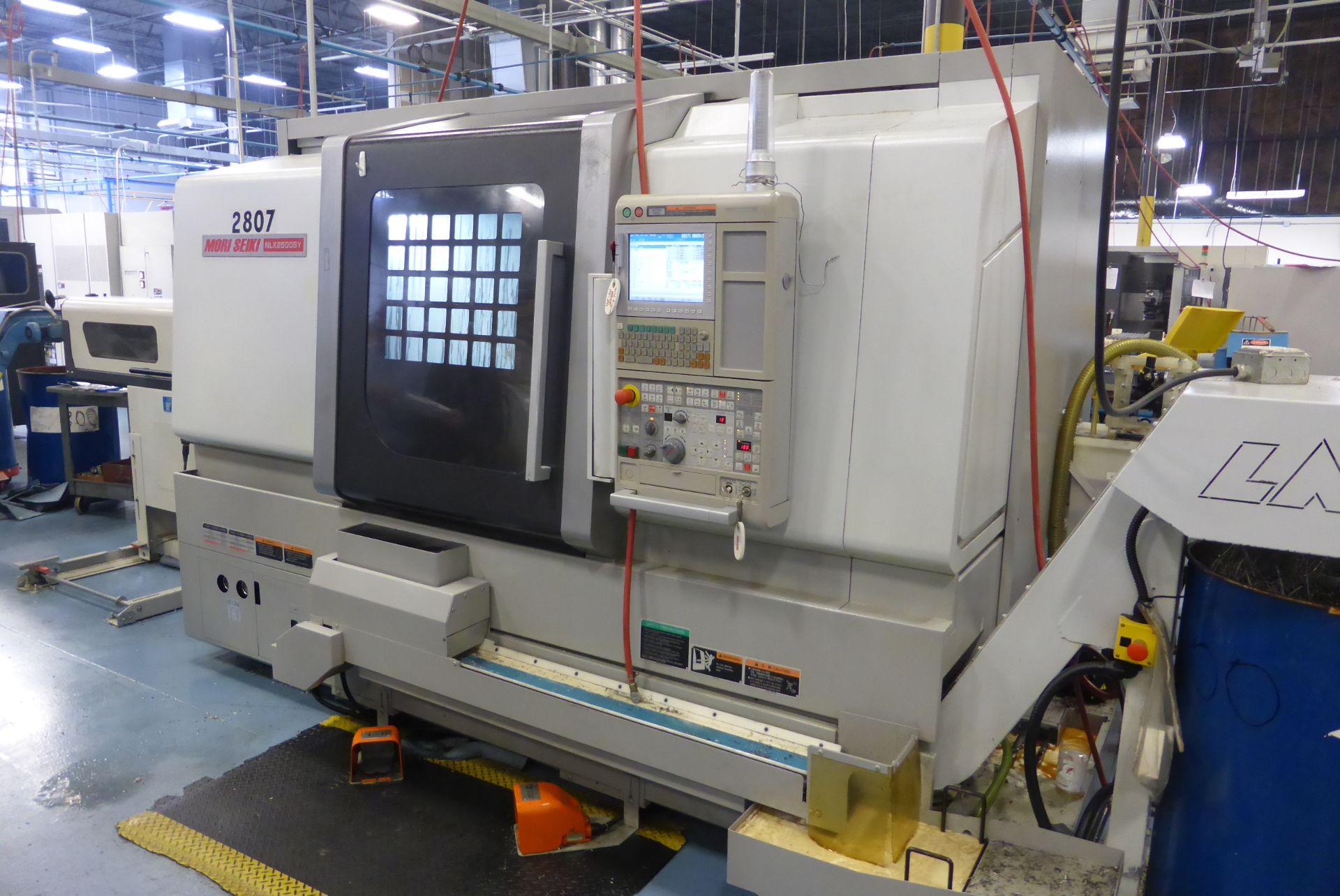 Lot 4 - MORI SEIKI NLX2500SY/700 CNC Turning & Milling Center (2011)