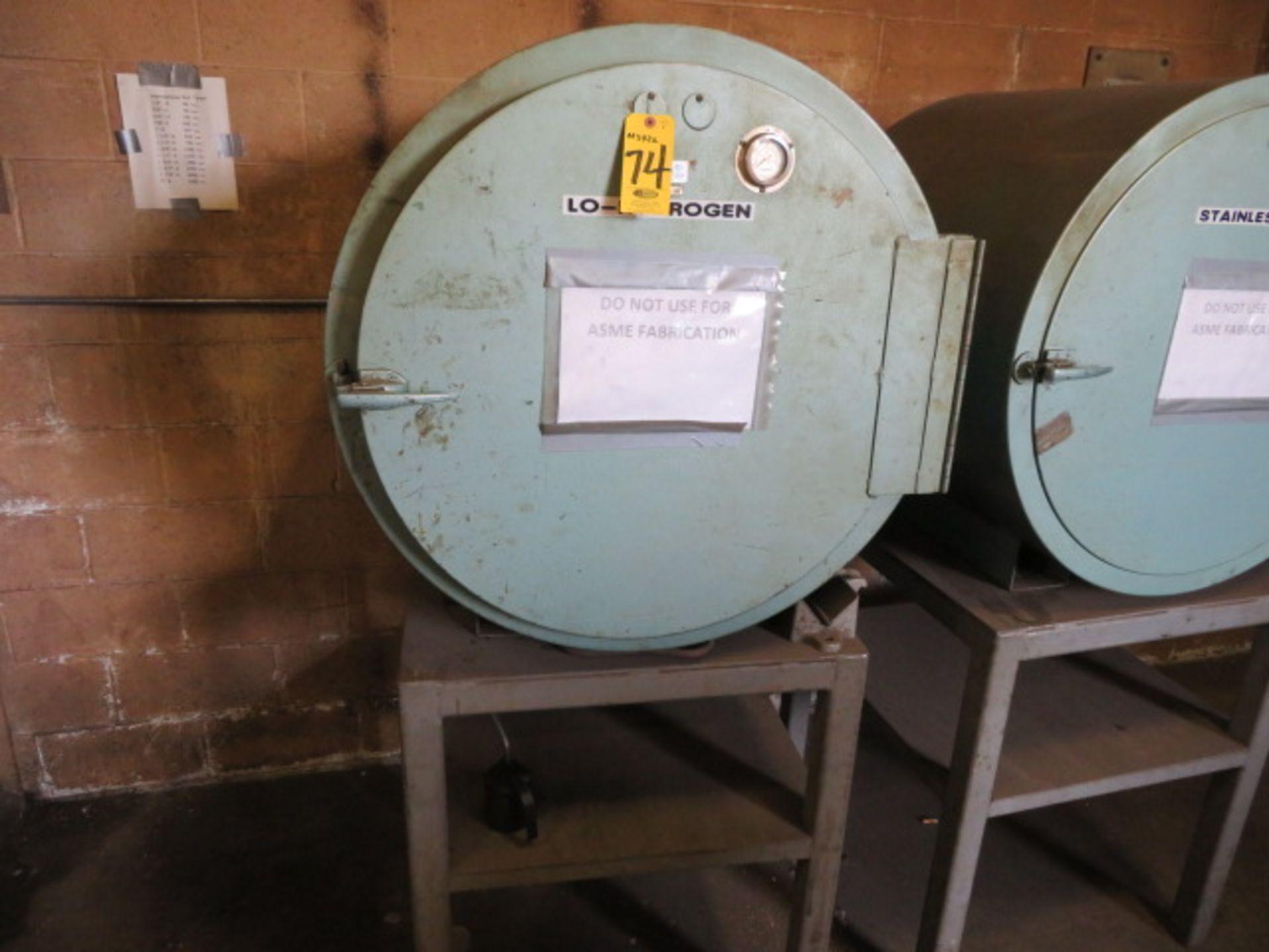 Lot 74 - PHOENIX TYPE 900 MDL 9C DRY ROD OVEN 100-550 DEG F W/ROD & IRON STAND