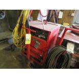 Lot 46 - LINCOLN IDEALARC R3R-400 TIG WELDER W/CART
