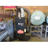 Lot 73A - ACE 73-801 MOBILE FUME EXHAUST W/ (2) FLEX HOSE OUTLETS
