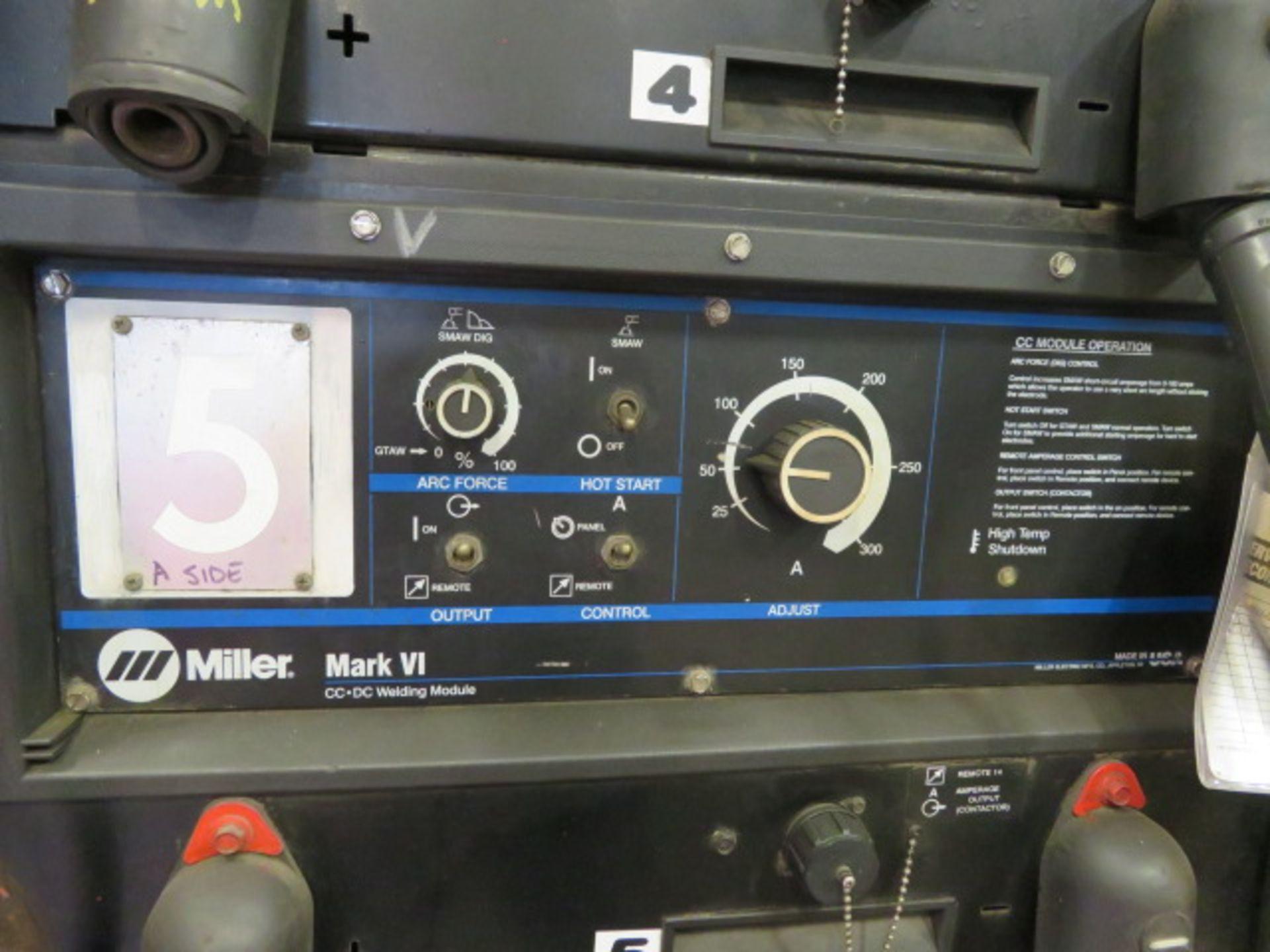 Lot 29 - 2000 VINTAGE MILLER MARK VI 6-MODULE WELDER