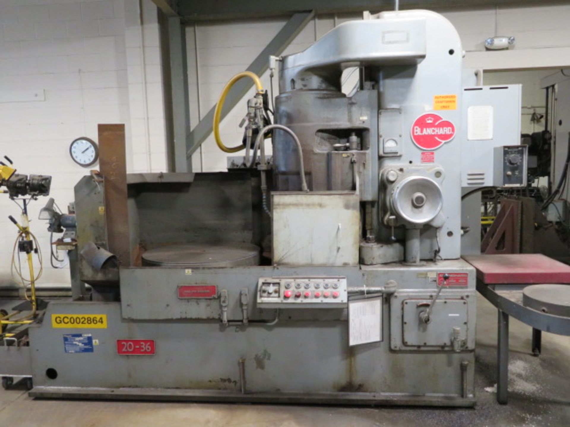 Lot 0F - BLANCHARD 20-36 Rotary Surface Grinder, S/N 20-15-239