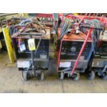 Lot 33 - (2) MILLER DIALARC TIG WELDERS W/CARTS