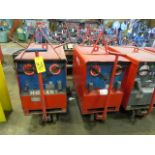 Lot 31 - (2) HOBART TR300 TIG WELDERS W/CARTS, CUT POWER CORDS