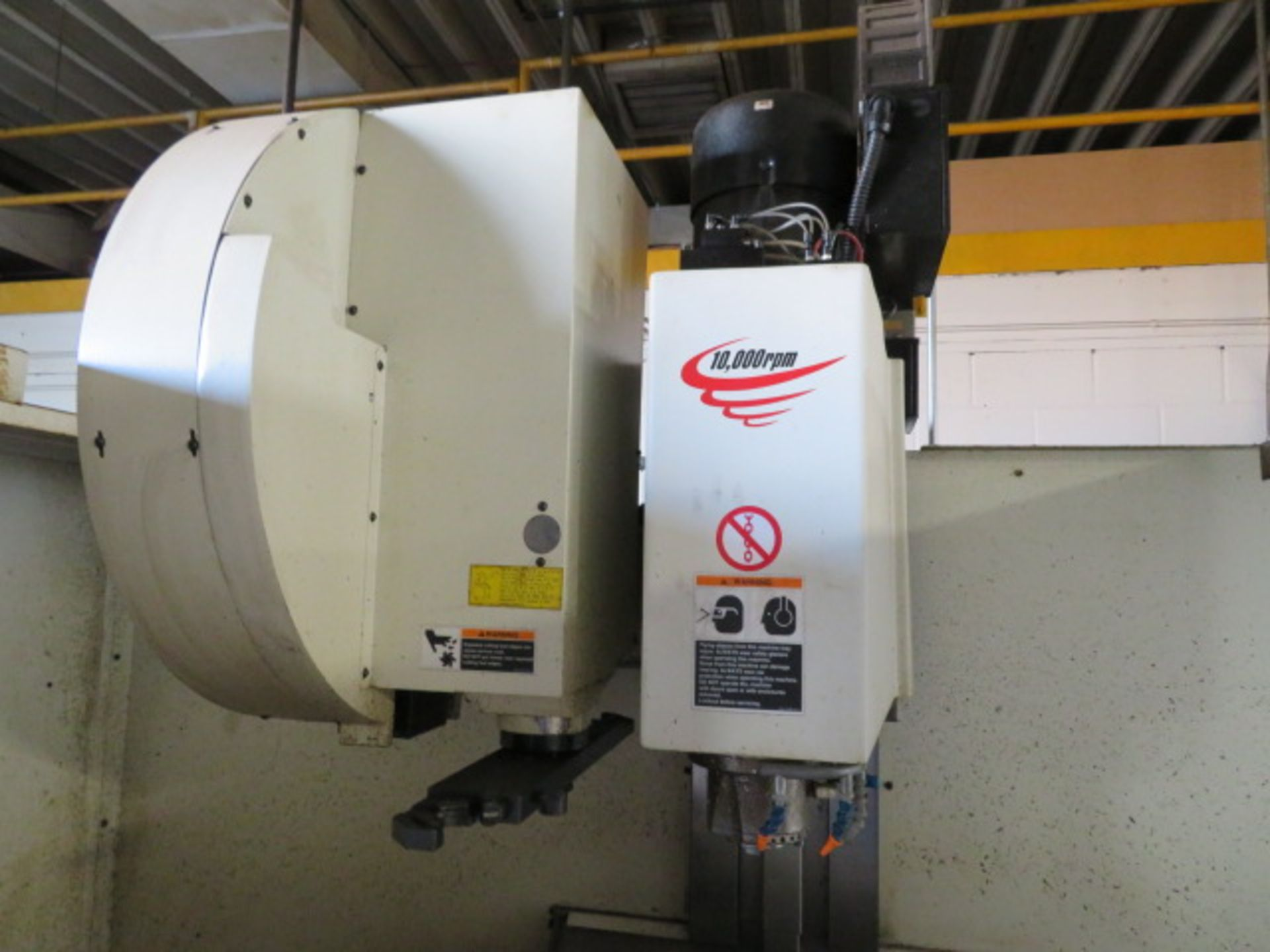 "Lot 143 - 2007 FADAL VMC4020 CNC VERTICAL MACHINING CENTER, S/N 012007019613, Travels; X-40"", Y-20"", Z-20"","