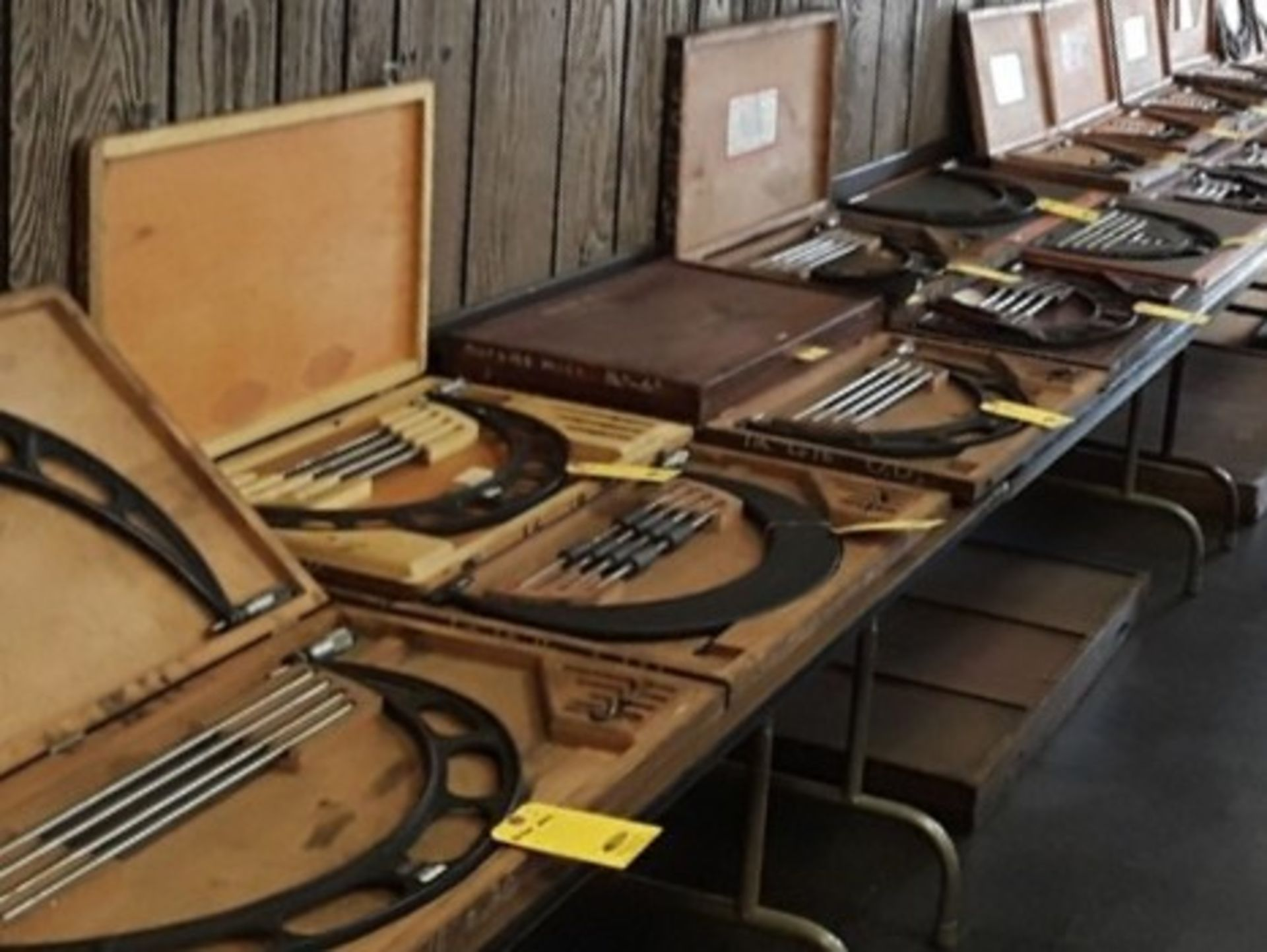 """Lot 0D - PARTIAL VIEW of Micrometers Up to 60"""""""