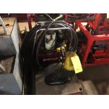 Lot 0L - ENERPAC SP-50100 HYDRAULIC C-FRAME PUNCH W/POWER PACK