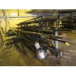 ASSORTMENT OF PIPING WITH RACK