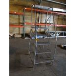 COTTERMAN 5 FOOT ROLLING STOCK LADDER