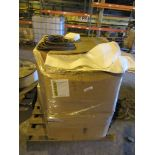 (2) PALLETS - LONG FILTER BAGS 5-3/4 IN X 120 IN W / V GROOVE