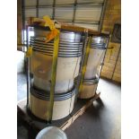 (2) BADGER IND BELLOWS EXPANSION JOINTS & SMALLER EXPANSION JOINT