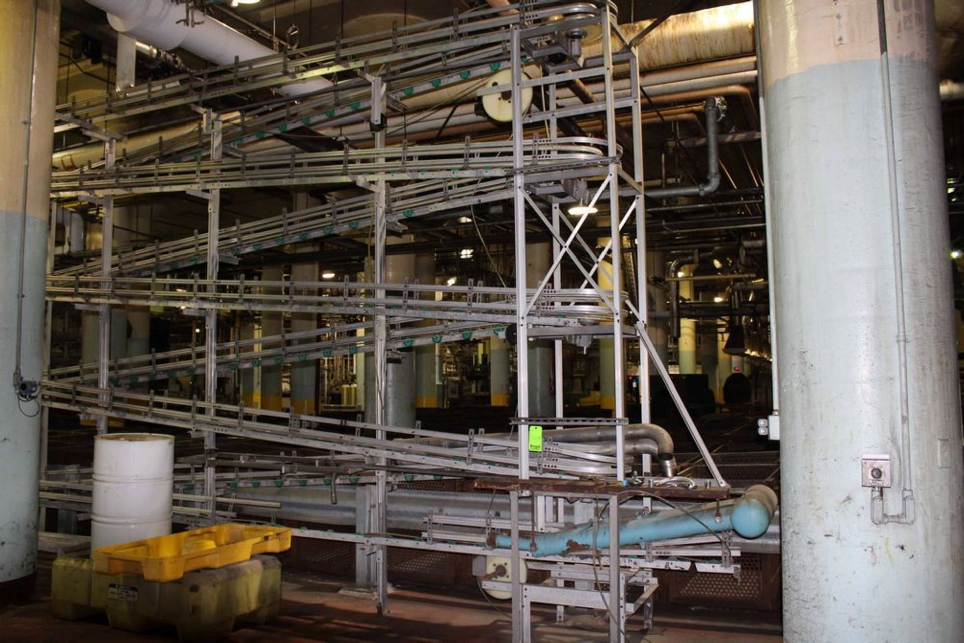 Lot 19021RB - Alpine Cable Way Can Conveyor