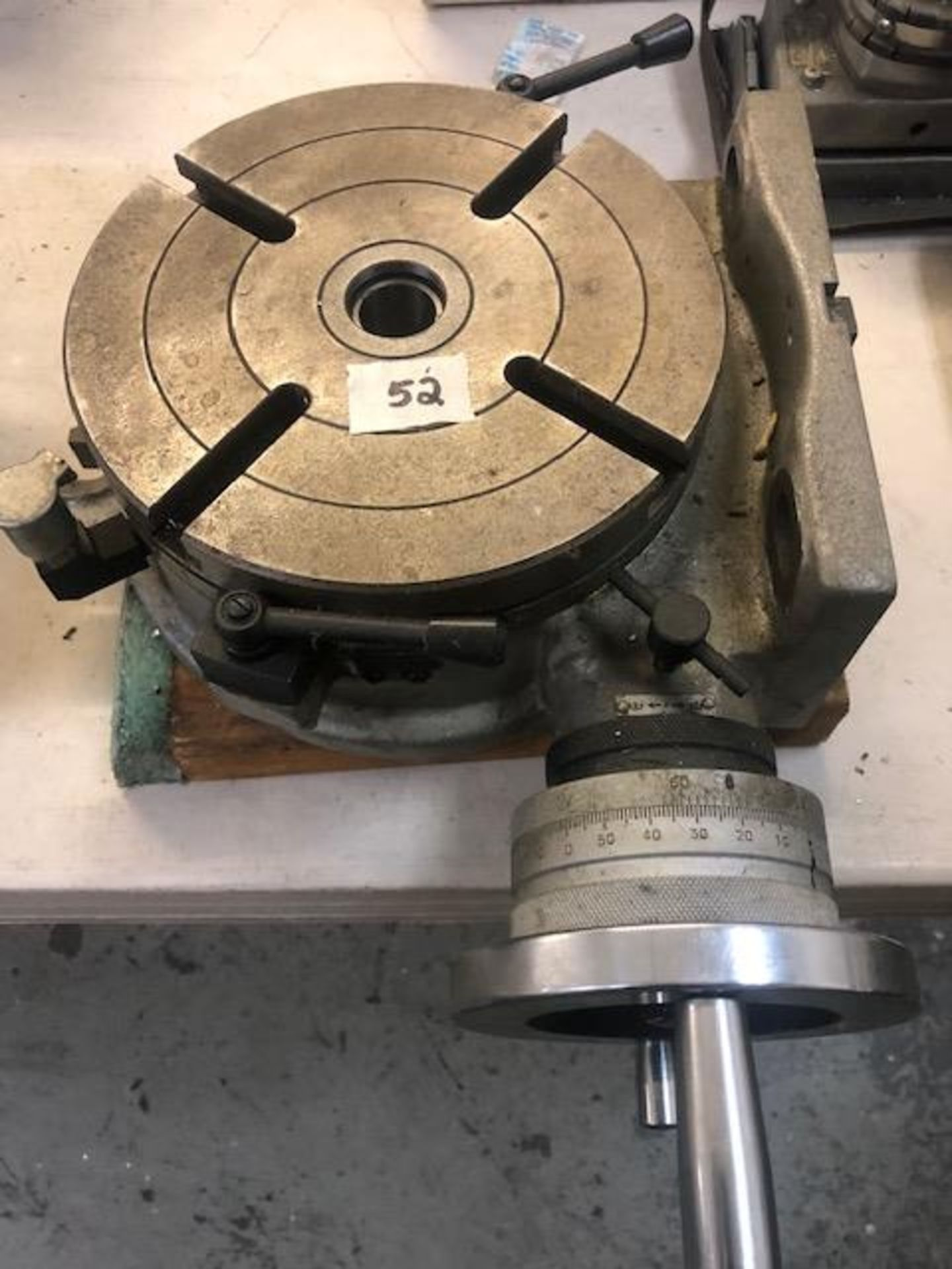 Lot 52 - Rotary Table