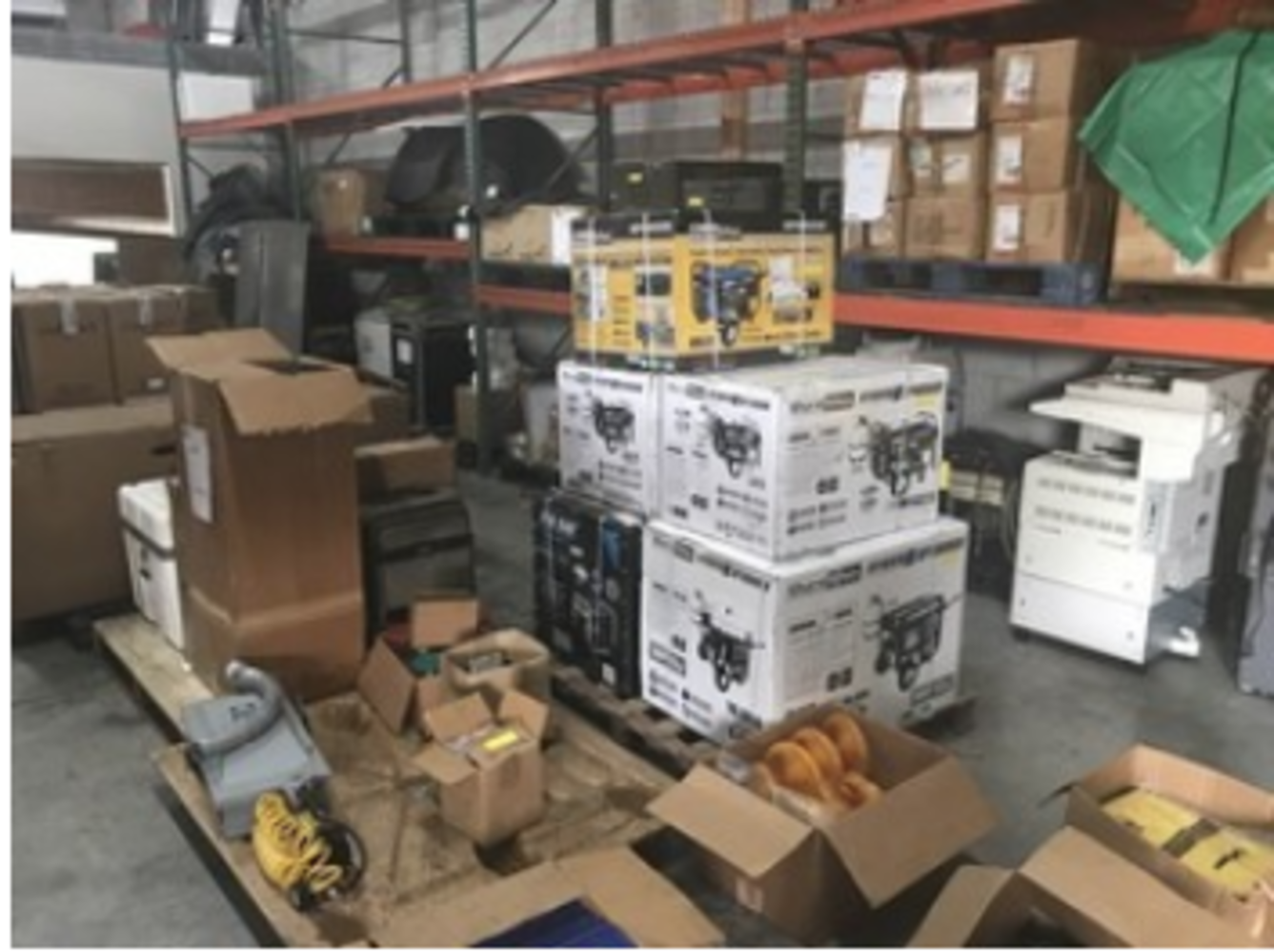 ABSOLUTE AUCTION - PALLET RACKING / GENERAL MERCHANDISE / FIREARMS / MUCH MORE