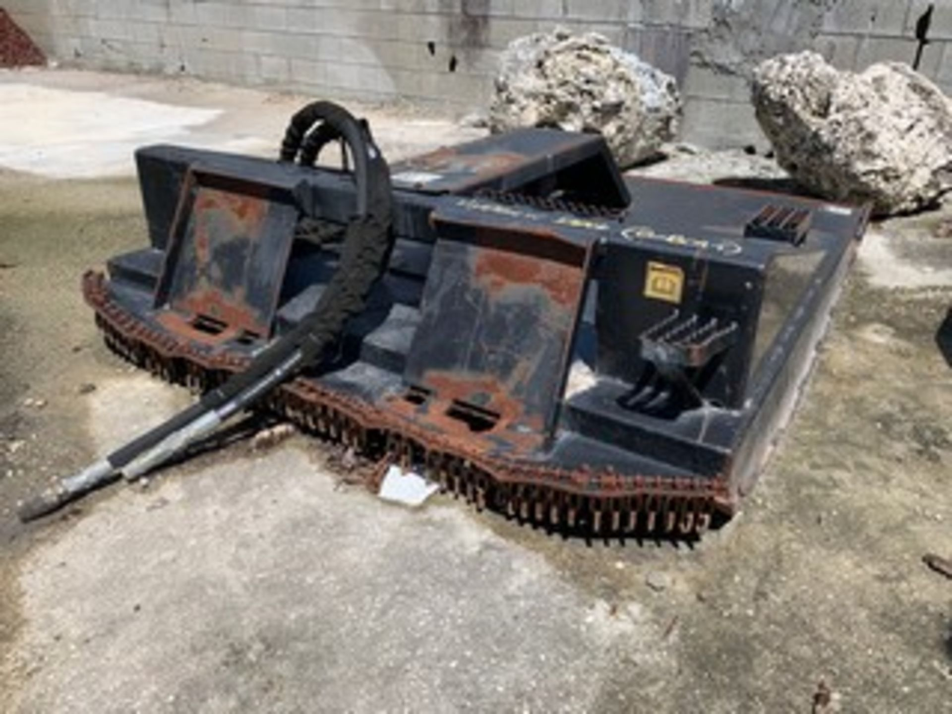 Lot 737 - HYDRAULIC DECK CUTTER (FOR SKID STEER)