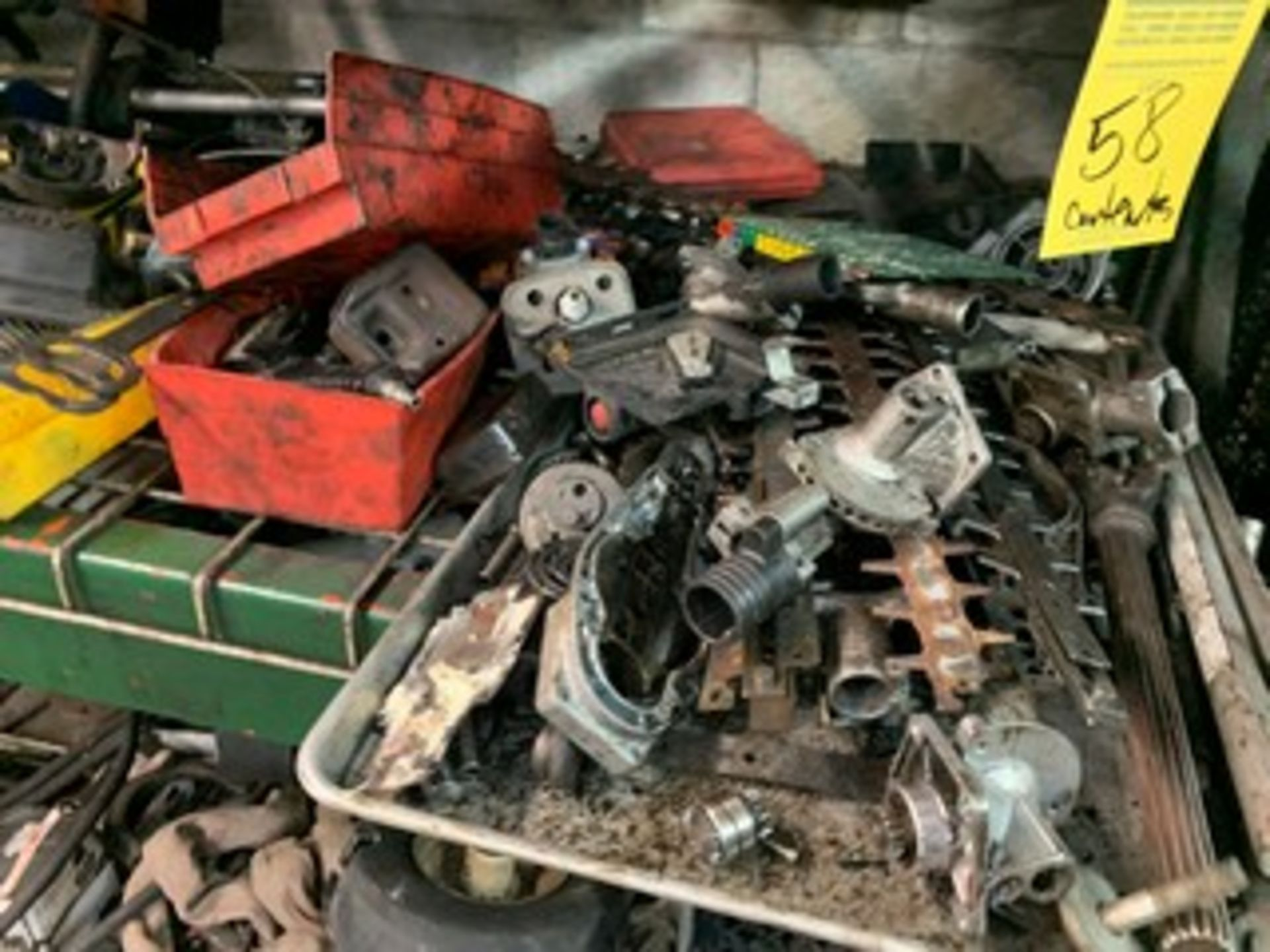 Lot 58 - LOT ASSORTED MOWER, BLOWER & WEEDEATER PARTS