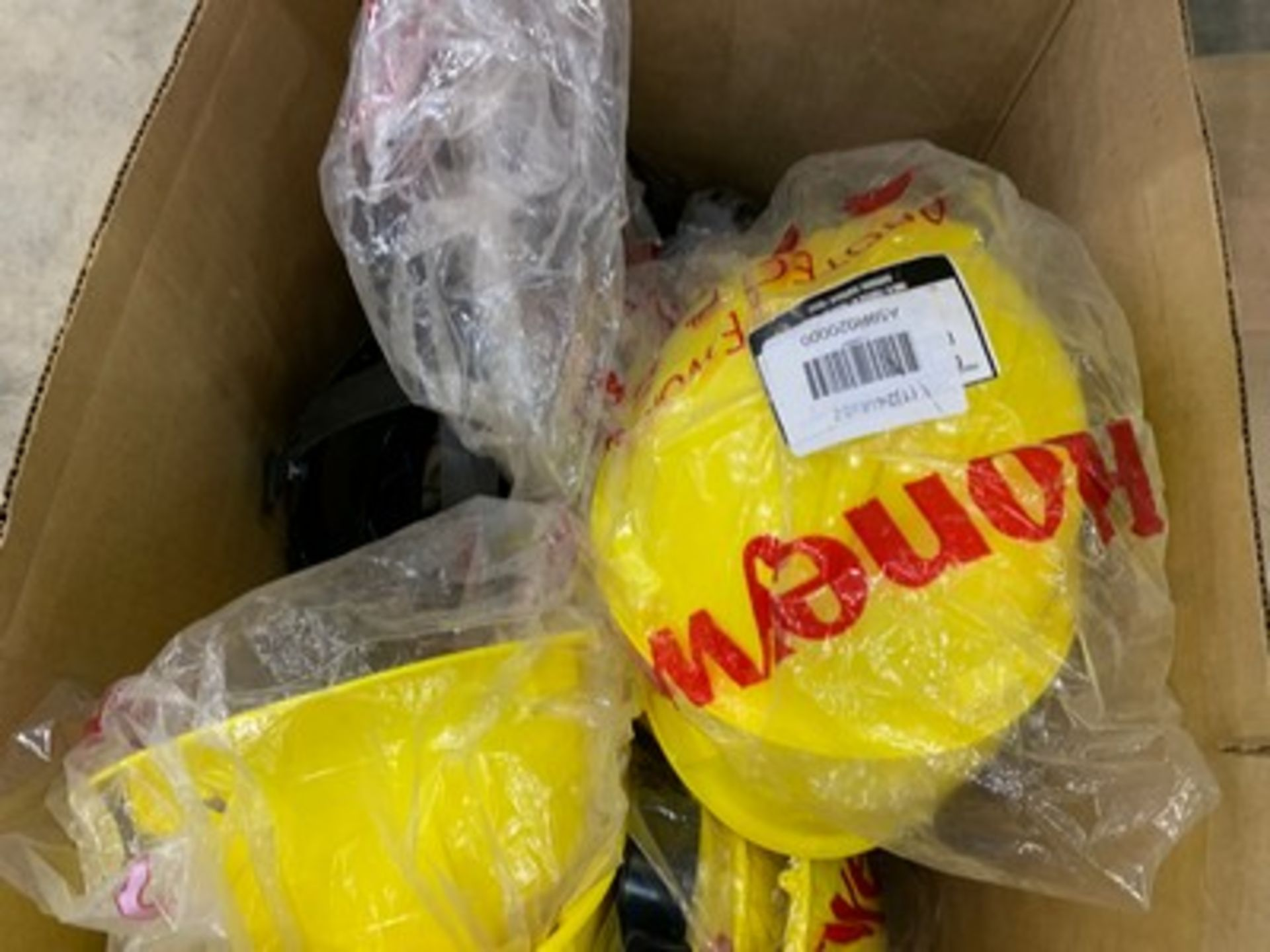 Lot 264 - YELLOW SAFETY HATS