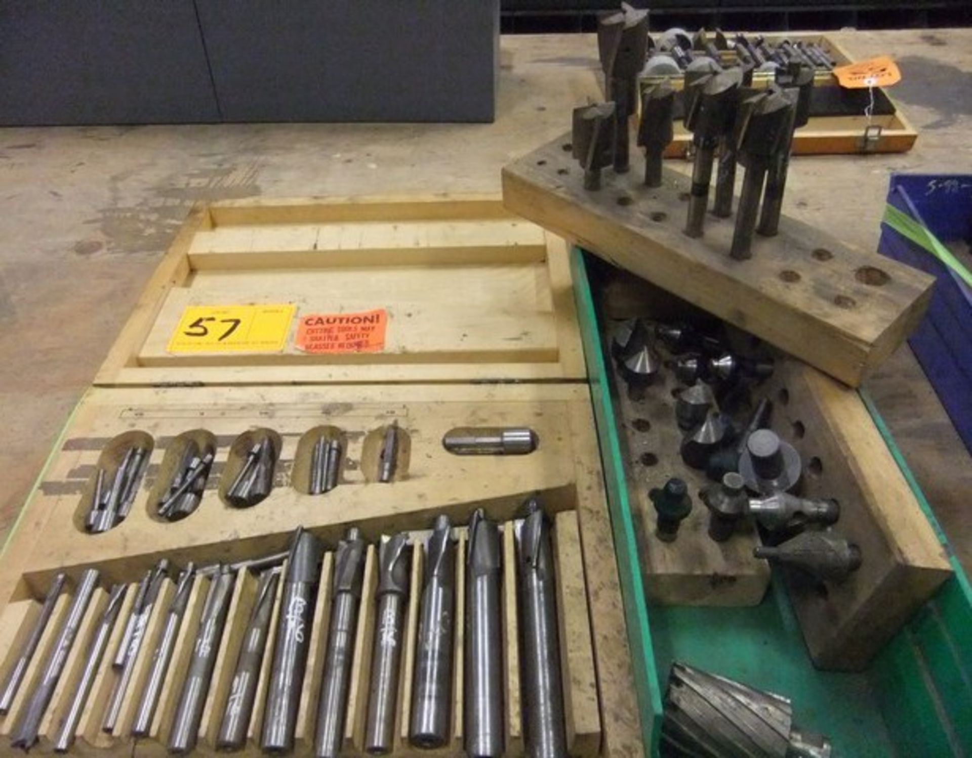 Lot 57 - LOT: (2) BOXES REAMERS