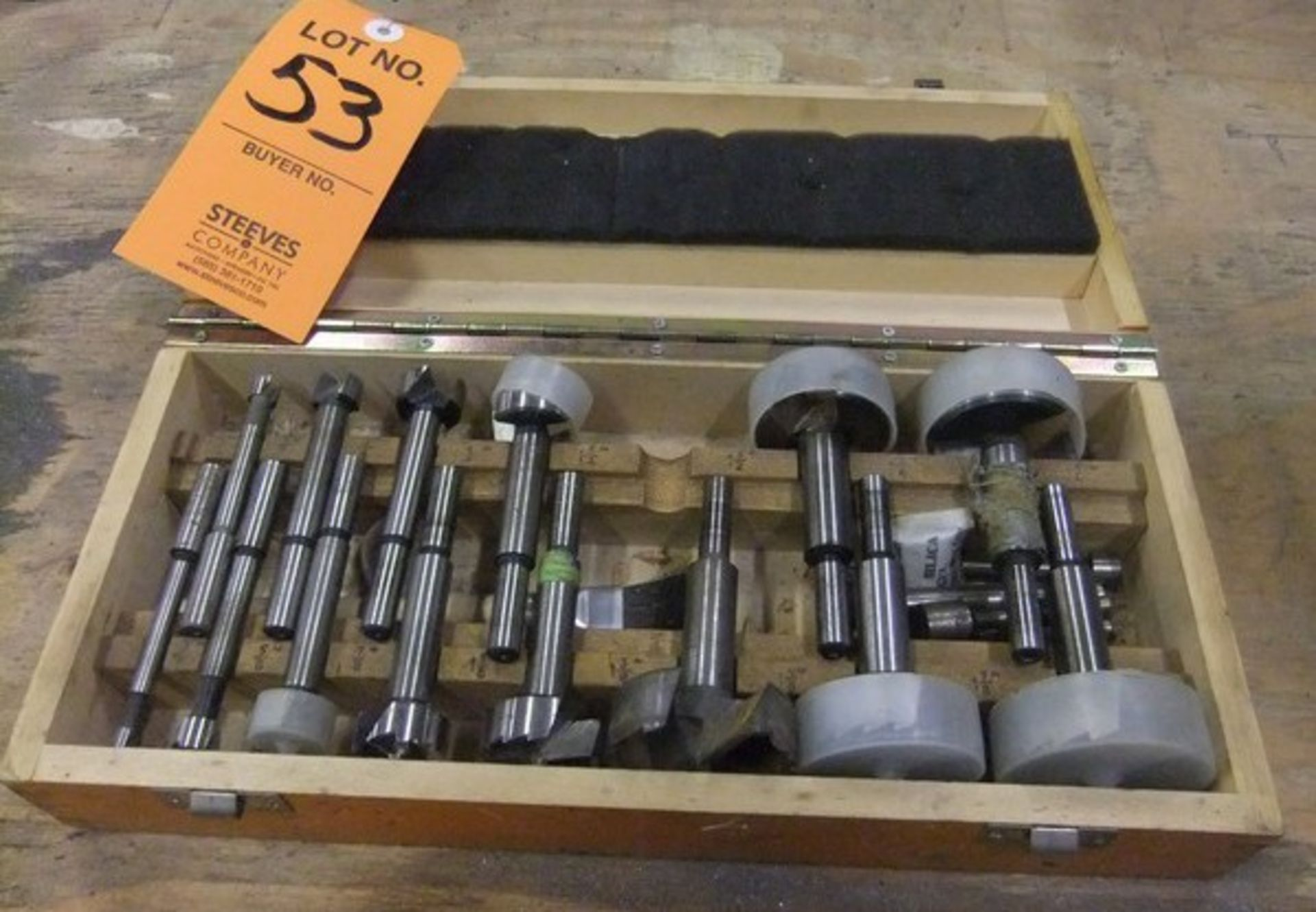 Lot 53 - LOT: (1) BOX - FORSTNER BITS