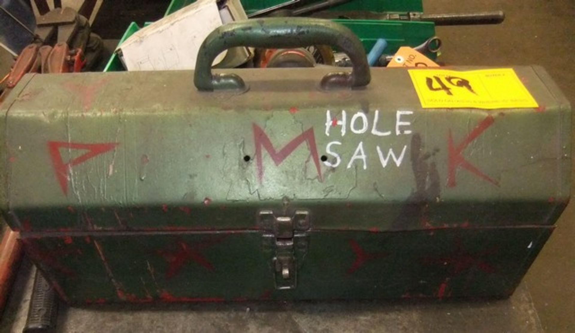 Lot 49 - LOT: HOLE SAW BLADES