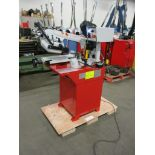 Lotto 256 - Omni Horizontal Band Saw - GEAR DRIVEN MOTOR with POWER HEAD with Automatic & Manual cut - MINT &