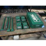 Hilman Type Roller Set Machinery moving skates - 60 Ton Deluxe Kit - 4 x 15 ton units