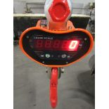 Hanging MINT Digital Crane Scale 30,000lbs 15 ton Capacity - complete with remote control and