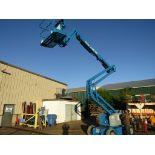 FREE CUSTOMS DOCS & 0 DUTY FEES - MINT Genie Zoom Boom Articulating Lift model Z-45/25J 45' height